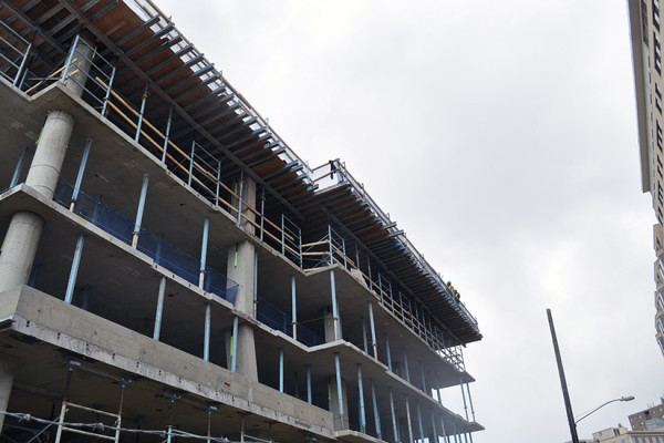 The Harrison is expected to be finished in Summer 2014/File photo