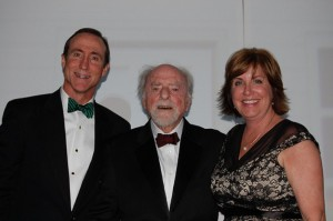 GRCC's Mark Ingrao, Robert Simon and Cornerstones' Kerrie Wilson at 2012 Best of Reston