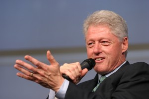 Bill Clinton (photo courtesy Clinton Foundation)