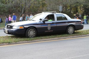 Fairfax County Police car