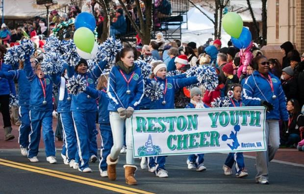Reston Youth Cheerleaders/Photo: Mike Heffner