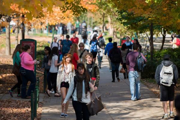 George Mason University campus/Photo by Alexis Glenn/Creative Services/George Mason University