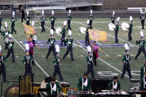 South Lakes High School Marching Band at State Competition/Photo by Melissa Gifford