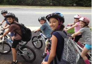 Bike to School Day in Reston 2013/Photo Courtesy of Steve Gurney