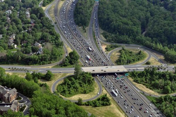 Beltway Traffic/Credit: BethesdaNow.com