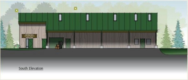 Rendering of proposed Girl Scout storage facility/Photo courtesy of Stop Industrial Oakton