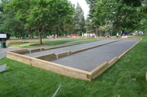 Outdoor Bocce Court/Credit: Joy of Bocce