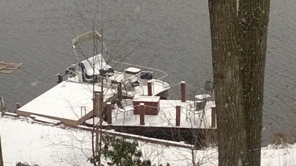 Runaway Dock on Lake Audubon