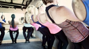 Workout at Pure Barre/Courtesy of Pure Barre