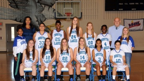 South Lakes Varsity GIrls Basketball 2013-14/Credit: SLHS