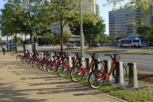 Capital Bikeshare, Pentagon City, Arlington/Credit: Mario Roberto Duran Ortiz via Creative Commons