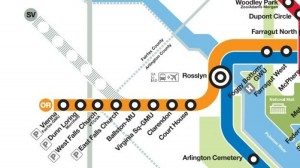 Map of Silver Line/Credit: Metro