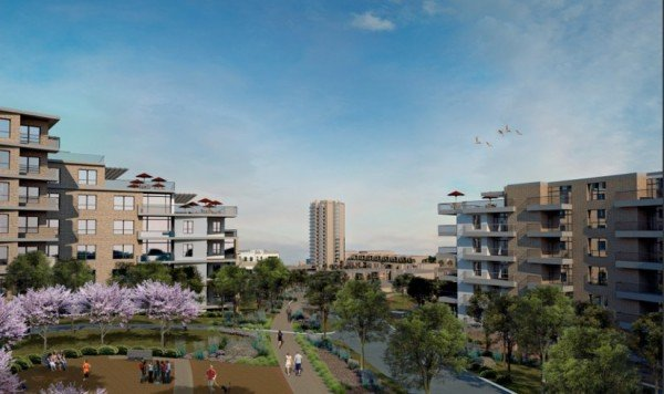 Artists Rendering of Lake Anne Redevelopment/Credit: LADP