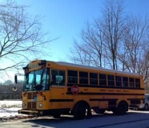 FCPS school bus