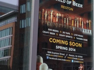 World of Beer at Reston Town Center