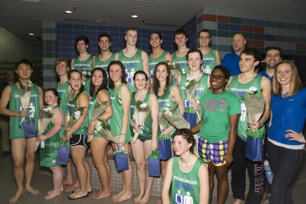 SLHS Senior Swimmers/Credit: Mark Majoros