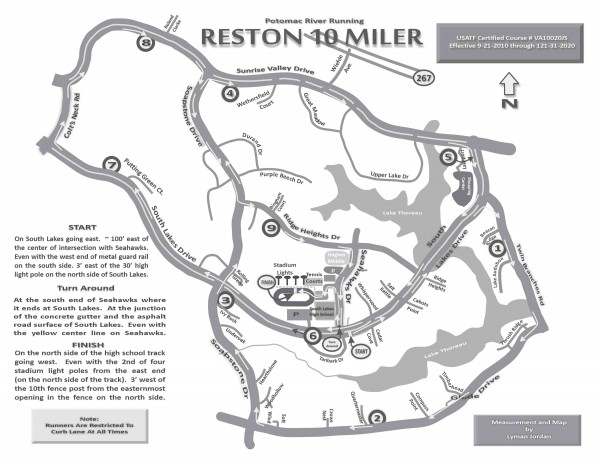 Reston 10 Miler is Sunday, March 2/Credit: PR Running