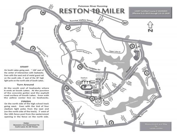 Reston 10 Miler is Sunday, March 2/Credit: PR Running