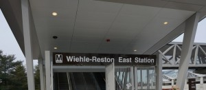 Wiehle-Reston East Metro Station