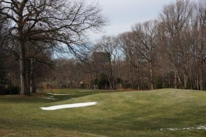 Reston National Golf Course in Winter