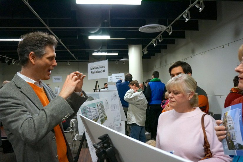 Residents Check Out Plans For Lake Anne At Open House On Feb. 3, 2014