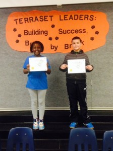Spelling Bee winners at Terraset