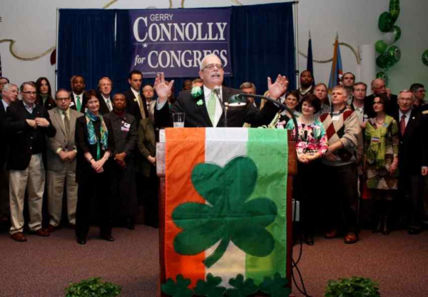 Gerry Connoly at 2012 St. Patrick's Day Fete/File photo
