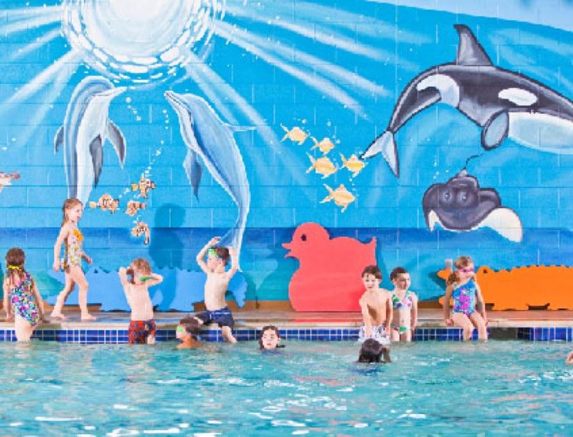 Coming Soon Goldfish Swim School 39 S New Indoor Pool Reston Now