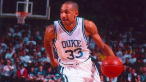 Grant Hill played at Duke from 1990-94/Credit: Duke University