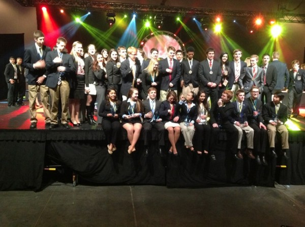 South Lakes DECA Students in Virginia Beach/Credit: SLHS
