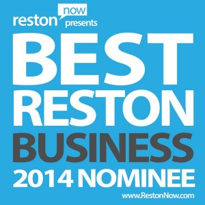 Best Reston Business Award logo