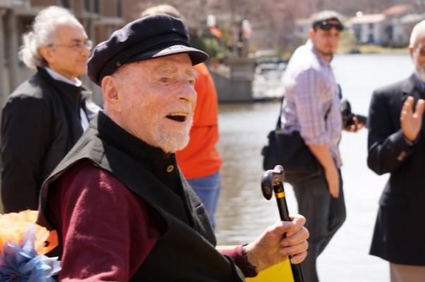 Bob Simon at 100th birthday celebration