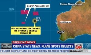 CNN Map on Search Area/Credit: CNN
