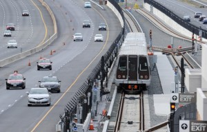 Silver Line construction/Credit: Fairfax  County