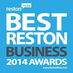 Best Reston Business Awards logo