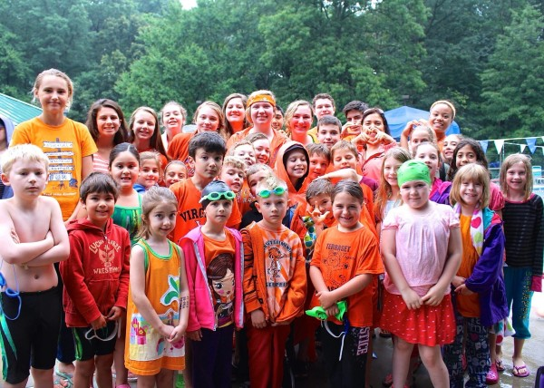 Glade Gators wear orange in honor of Dave Tremaine/Credit: Raba Letteri