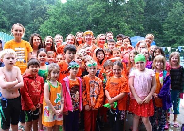 Glade Gators wear orange in honor of Dave Tremaine/Credit: Raba Letteri