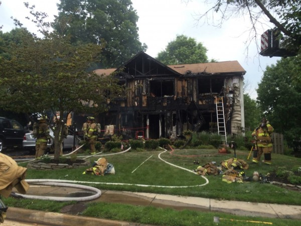 Fire caused $350K damage to Herndon home/Credit: Nova