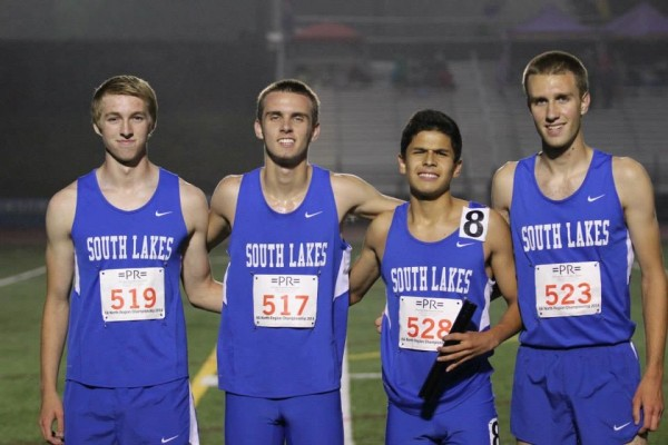 SLHS boys 4x800 relay/Credit: Ed Lill
