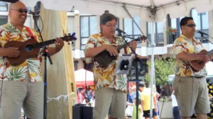 The Aloha Boys at the 2013 Lake Anne Ukulele Festival/File photo