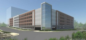 Rendering of Innovation Center garage/Credit: Fairfax County