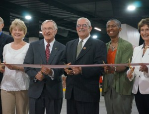 Sen. Janet Howell, Del. Ken Plum, Rep. Gerry Connolly, Hunter Mill Supervisor Cathy Hudgins and Fairfax County Board of Supervisors Chair Sharon Bulova