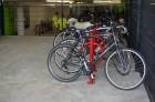 Bike racks at Wiehle-Reston East Open  House