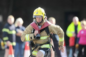 Competitor at 2013 World Police & Fire Games/Credit: Discover Northern Ireland