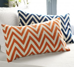 Throw pillows/Credit: Pottery Barn