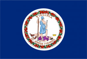 Virginia State Flag/File graphic