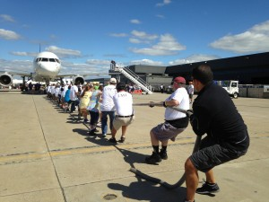Dulles Day Plane Pull/Credit: Special Olympics