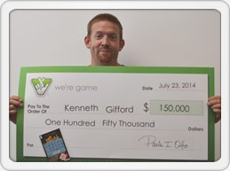 Kenneth Gifford/Credit: Virginia Lottery