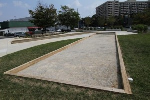 Bocce Court in Arlington/Credit: ARLnow.com