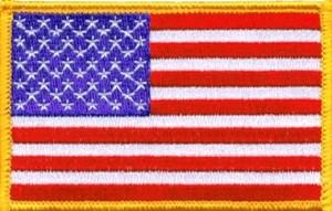 U.S. Flag patch/Credit: Swimport.com